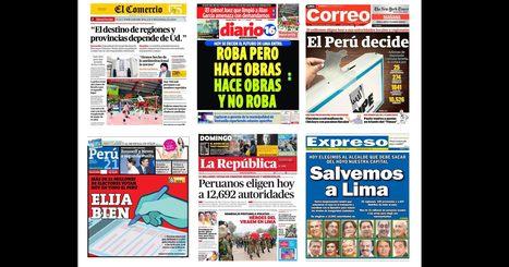 Periodismo y propaganda en el Perú.  Una relación compleja durante lo procesos electorales / Ghiovani Hinojosa Navarro | Comunicación Política | Scoop.it