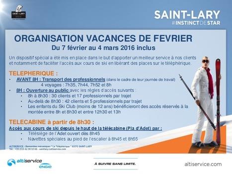 Saint-Lary : accès règlementé au Pla d'Adet pendant les vacances de février | Vallée d'Aure - Pyrénées | Scoop.it