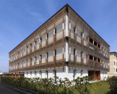 Viviendas Sociales en Motta di Livenza / Matteo Thun & Partners | Arquitectura - Buenas Prácticas | Scoop.it