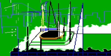 Old Sierra adventure games transformed into lovely glitch screens | Research_topic | Scoop.it
