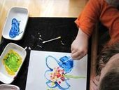 Q-tip Pointillism for Kids - The Artful Parent | Kids Making Projects | Scoop.it