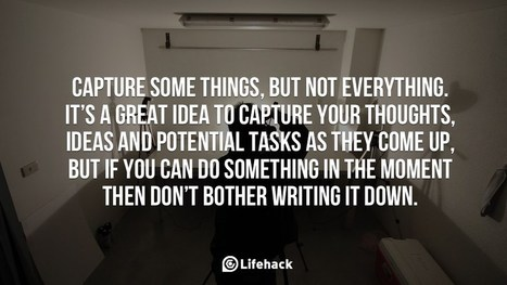 Capture Some Things, But Not Everythings | Positive Psychology | Scoop.it