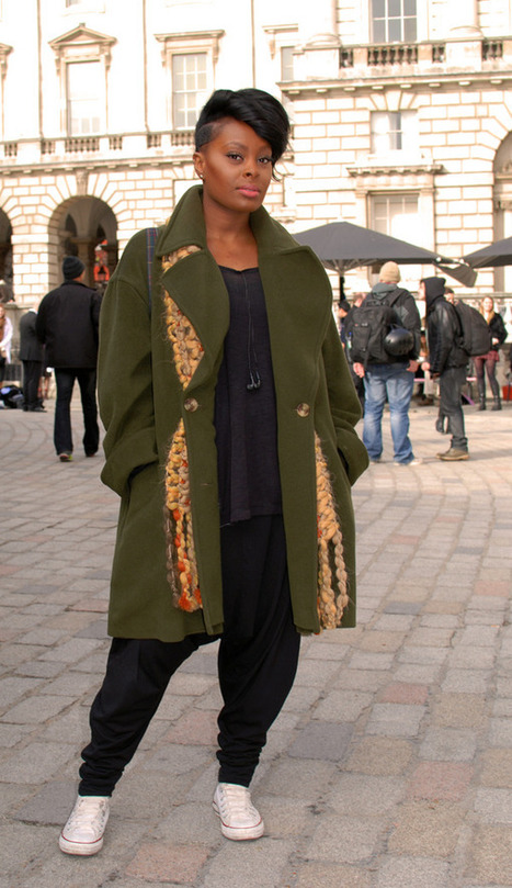 Loving the greens... | Street Style | Scoop.it
