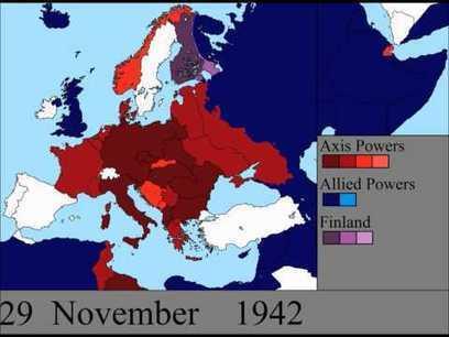 Carte de la seconde guerre mondiale en Europe au jour le jour - 2Tout2Rien   La minute culturelle de Plumblossom   Scoop.it