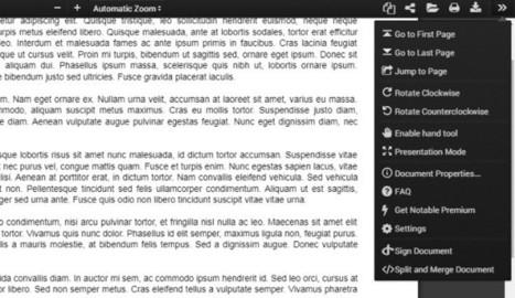 Edita documentos PDF sin salir de Chrome con la extensión NotablePDF | Herramientas TIC | Scoop.it