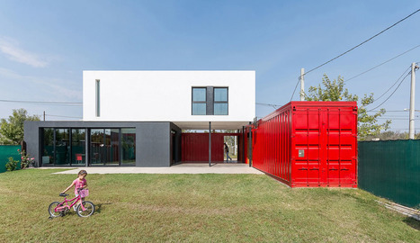 Maison contemporaine en containers dans la banlieue de Cordoba en Argentine | Immobilier | Scoop.it