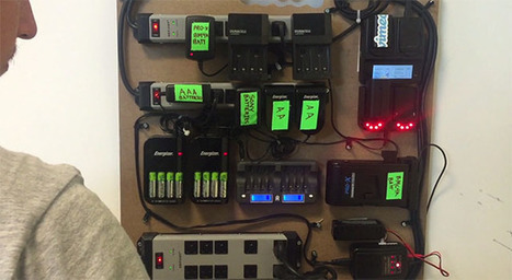 Create a DIY Battery Charging Board to Help Organize Your 'Battery Insanity' | Richmatphoto | Scoop.it