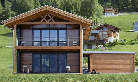 «L'avenir? des maisons écobios construites avec du bois local» (de Suisse) | Peinture écologique à l'huile de lin | Scoop.it