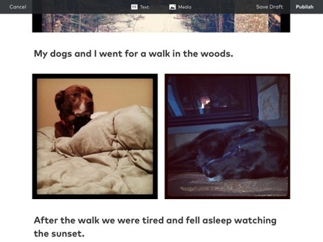 Storehouse Adds New Features for Creating Visual Stories   Apps I have   Scoop.it