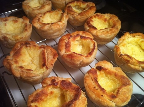 Recipe Shed: Paul Hollywood's Portuguese Custard Tarts ...   otero pastry   Scoop.it