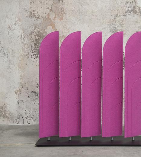 Alain Gilles buzziblinds: sounds absorbing room partitions   Bureau, travail : réflexions, évolutions, design   Scoop.it