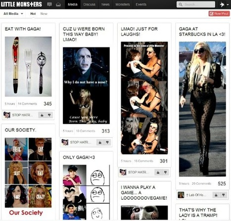 Lady Gaga's Social Network Opens to All the Little Monsters | Transmedia: Storytelling for the Digital Age | Scoop.it