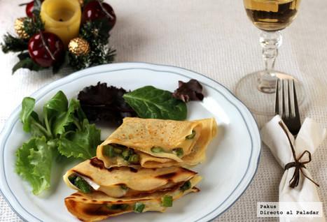 Crêpes de espárragos y queso brie | Qué se #cocina en la red | Scoop.it
