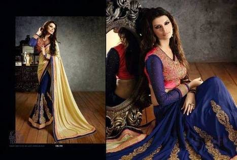 Saheli Couture Fancy Indian Wedding Saree Collection | Style | Strawberry Chiffon RTW LZahra Ahmad Fall Winter Exclusive Collection 2013atest Collection 2013 For Ladies. | Scoop.it