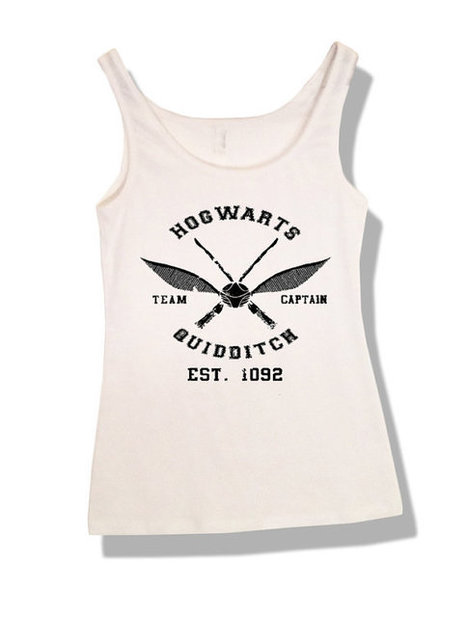 HARRY POTTER Hogwarts Quidditch Tank Top Unisex | New Collection | Scoop.it