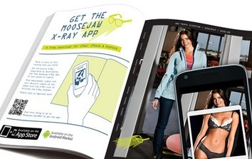 "X-ray App Lets Users ""See Through"" Models' Clothing 