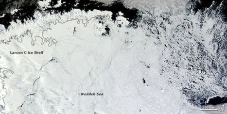 A huge crack is spreading across one of Antarctica's biggest ice shelves | Toronto Star | Everything Is Broken | Scoop.it