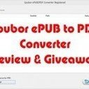 Epubor ePUB to PDF Converter Review & Giveaway - JaypeeOnline | Software giveaway campaign or software discount information | Scoop.it