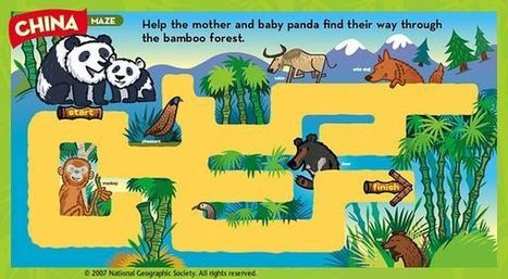 China Maze -- National Geographic Little Kids | Foundation English: Chinese stories | Scoop.it