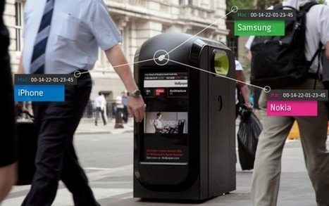 This Recycling Bin Is Stalking You | Barcode Recycler Weekly | Scoop.it