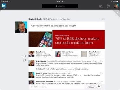 How to engage your audience when sharing law blog posts on LinkedIn | Digital-News on Scoop.it today | Scoop.it