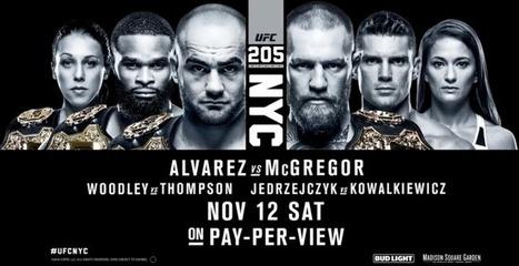 Image result for UFC 205 Live Stream