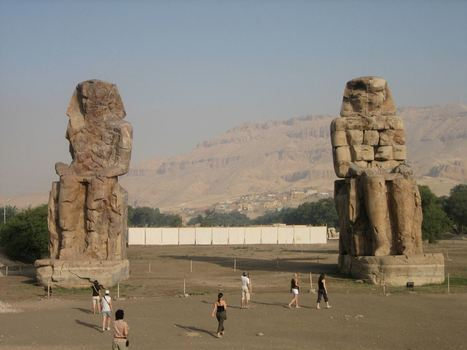Colossi of Memnon in Luxor.   Best Egypt Trip   Scoop.it