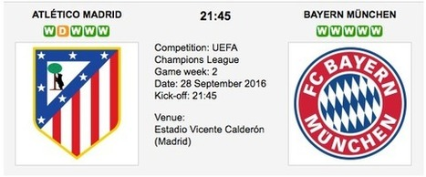 At. Madrid vs. B. Munich - Champions League Preview 2016 | ukbettips.co.uk | Scoop.it