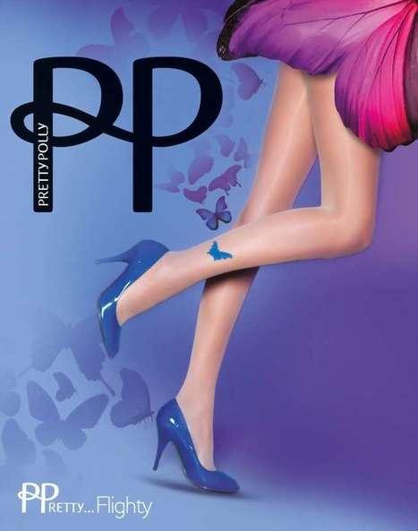 Trendy pantys met vlindermotief PPretty ... Flighty van Pretty Polly nude, maat one size   pantys-boutique.nl   Pantys Kousen   Scoop.it