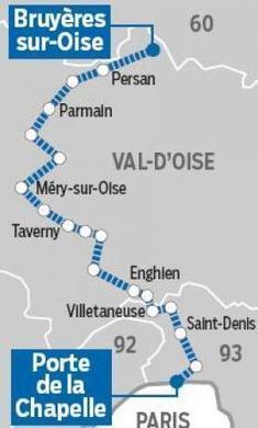 Un projet d'autoroute ferroviaire entre le Val-d'Oise et Paris - Le Parisien   CEEVO Val d'Oise   Scoop.it