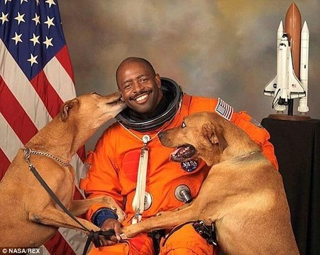 NASA astronaut sneaks his dogs into best ever official portrait | The Dog Connection TV | Scoop.it