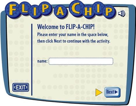 Flip-a-Chip and Complete Sentences! | educational technology enhancers | Scoop.it