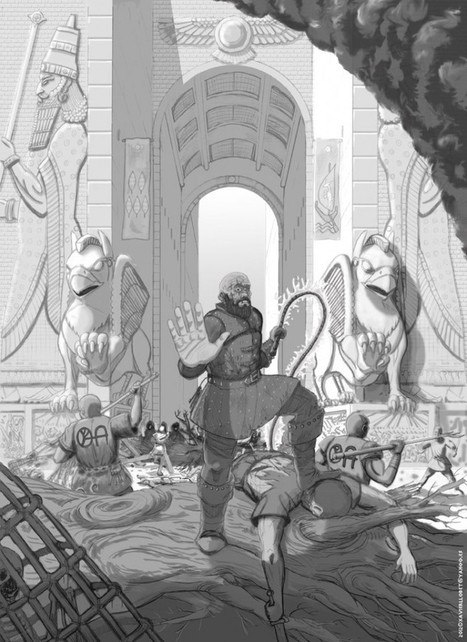 """None shall pass, for today the wicked have taken control of the streets!"" 