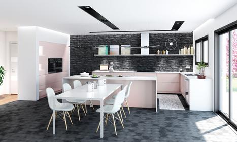 Charles Réma : la cuisine voit la vie en rose | Aménagement des espaces de vie | Scoop.it