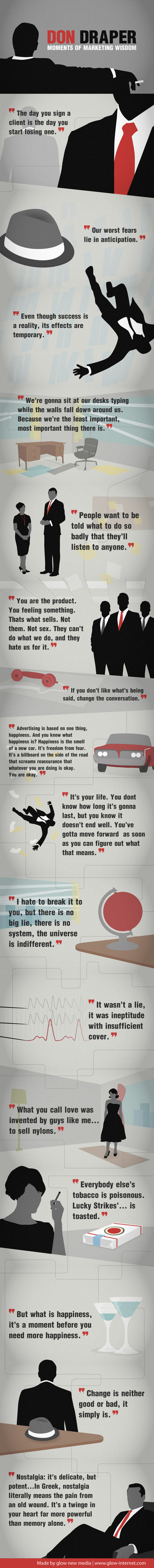 Don Draper's Moments of Marketing Wisdom (Infographic) | Digital-News on Scoop.it today | Scoop.it