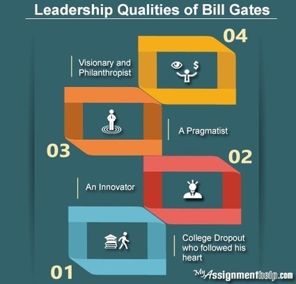A Role Model: The Leadership Qualities of Bill Gates | My Assignment Help Info : Review and Subjects | Scoop.it