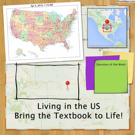 Take the Classroom Creative Challenge: Bring the Textbook to Life & Explore Living in the US | General Classroom Resources | Scoop.it