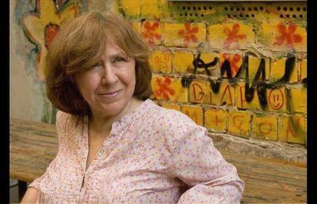 Le Nobel à Svetlana Alexievitch, romancière de voix | Poèmes d'avenir, du présent, du passé. | Scoop.it