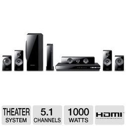 (1)   Samsung 5.1 Channel Wireless 3D Blu-ray Home Theater System With Full HD 1080p Resolution, 1000 Watts Total Power, 2nd Generation Open-Type Speakers With Phase Plug, Smart Content With Signat... | Black Friday  Home Theater  deals 2013 | Scoop.it