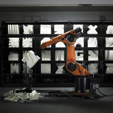Robotic arms create custom furniture in Robochop installation | Things and more things | Scoop.it
