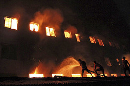 Bangladesh Factory Fire Sparks Outrage | Asian Labour Update | Scoop.it