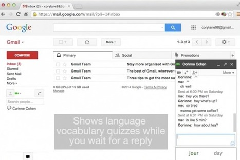 Learn a language while you text | iEduc | Scoop.it