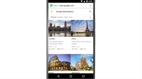 Google Destinations Aims to Inspire Travelers | Tourism Innovation | Scoop.it