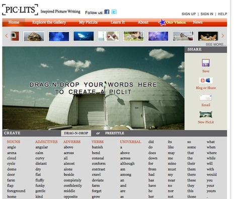 PicLits.com - Create a PicLit | Mrs Beatons Web Tools 4 U | Scoop.it