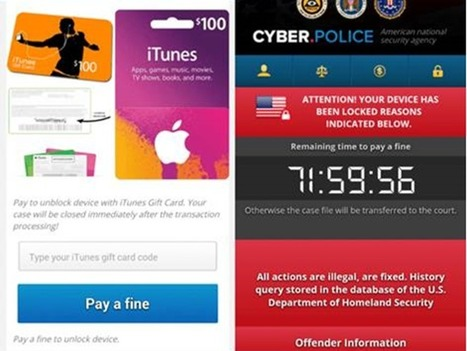 Ransomware now locks your smart TV - and then demands Apple iTunes gifts | ZDNet | Analysing Cybercrime. | Scoop.it