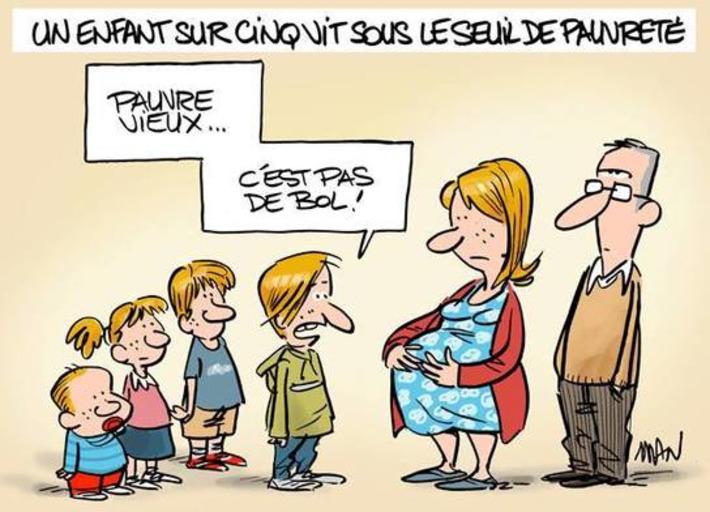 Seuil de pauvreté | Baie d'humour | Scoop.it