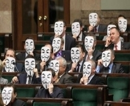 Amid ACTA Outcy, Politicians Don Anonymous Guy Fawkes Masks - Forbes | Social Media and its influence | Scoop.it
