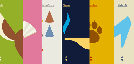 20 Posters for Disney Classics by re:design | Actus décalés | Scoop.it