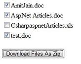 Download Multiple Files As Zip File Archive In Asp.Net | .NET coding | Scoop.it