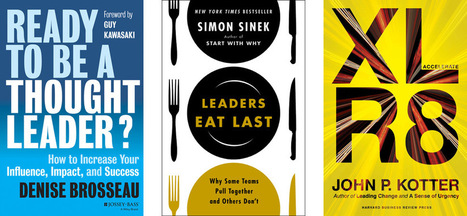 10 Tips and Quotes From the Best Leadership Books of the Year | Leadership | Scoop.it